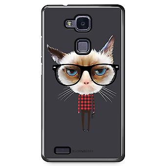 Bjornberry Shell Huawei Honor 5X - Hipster Cat