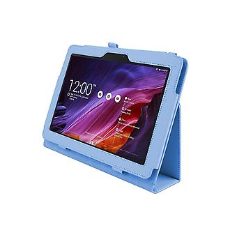 PU Leather Case Cover for Asus Transformer Pad TF303 TF303CL[Light Blue]