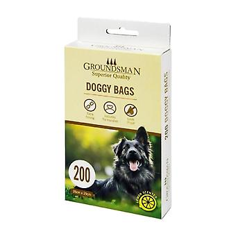 Groundsman Doggy Plastic Bags (Pack Of 200)