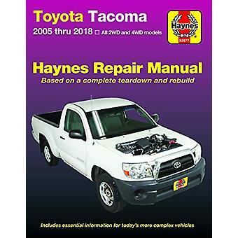 Toyota Tacoma - 2006-2018 Haynes Repair Manual by Toyota Tacoma - 200