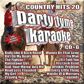 Various Artist - Party Tyme Karaoke: Country Hits 20 [CD] USA import