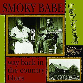 Smoky Babe - Way Back in the Country Blues [CD] USA import
