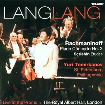 Rachmaninov/Scriabine - Lang Lang Live at l'importation USA Proms [CD]
