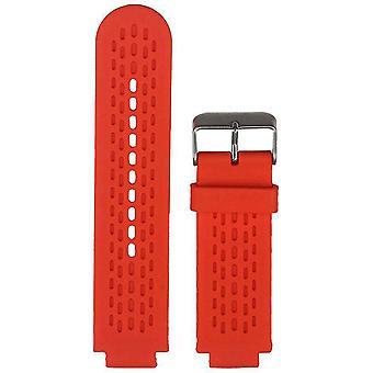 Watch strap made by strapsco for garmin vivoactive red silicone watch strap