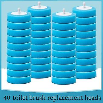 Bathroom Disposable Toilet Cleaning Brush - Dead Corner Wash Brush  Disposable Cleaning Artifact Set