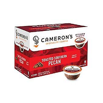 Café especial de Cameron torrado pecan Sul único saque pods