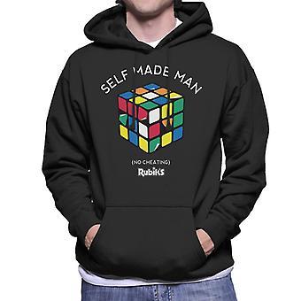 Rubik's Self Made Man Men's Hooded Sweatshirt