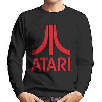 Atari Klassisk Rød Logo Herre's Sweatshirt