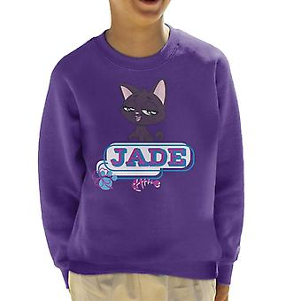 Littlest Pet Shop Jade Fish Bone Kid's Sweatshirt