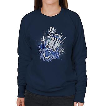 Star Wars R2D2 Astromech Droid Women's Sweatshirt