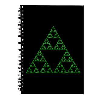 Cuaderno espiral de fuerza fractal