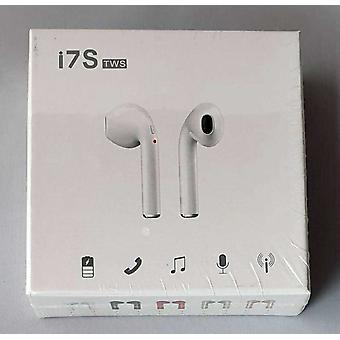 Bluetooth i7s TWS Headphone Headset White Bluetooth 5.0, Wireless Charging A2DP/AVRCP - iOS, Android