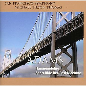 J. Adams - John Adams: Harmonielehre; Short Ride in a Fast Machine [SACD] USA import