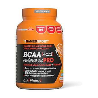 BCAA 4: 1: 1 extreme pro 110 tablets