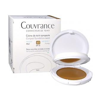 Couvrance Compact Foundation Cream - Honey 4.0 10 g of powder