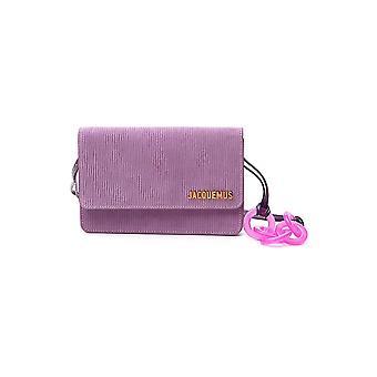 Jacquemus 203ba09203309440 Vrouwen's Lilac Fabric Handtas