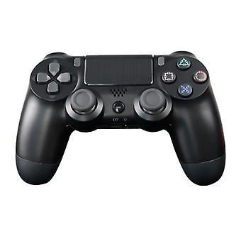 الاشياء المعتمدة ® وحدة تحكم الألعاب لبلاي ستيشن 4 - PS4 بلوتوث غمبد مع الاهتزاز الأسود
