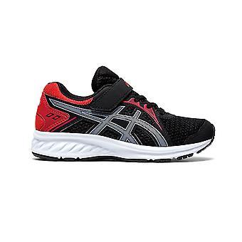 Asics Jolt 2 Junior Kids Running Fitness Training Trainer Shoe Black/Red