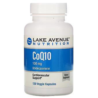 Lake Avenue Nutrition, CoQ10, USP Grade, 100 mg, 120 Veggie Capsules