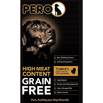 Pero Grain Free Turquie & Patate douce avec canneberge - 12kg