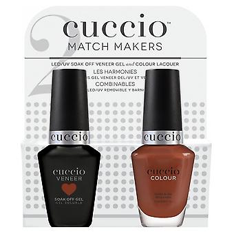 Cuccio Bella Natura 2019 - Furnier UV/LED Polnische Match Maker Sets - Naturzustand (2 X 13ml) (CCMM1259)