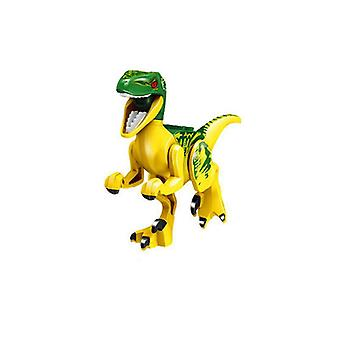 Colorful Jurassic Dinosaurs Model Set - Cute Plastic Animals