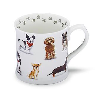 Cooksmart Curious Dogs Tankard Mug