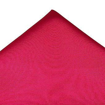 Krawaty Planet Plain Fuchsia Różowy Jedwabny Kieszonkowy Kwadrat Chusteczka