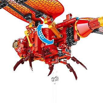 Building Blocks Simulation Insect Hand Bee Dragonfly Puzzle Assembled Block