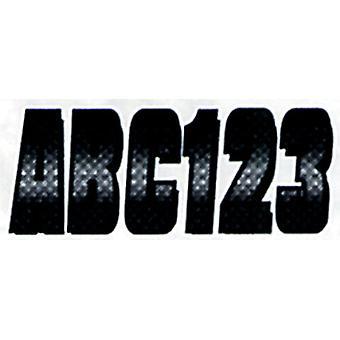 CHBKG300 المتشدد 3 مجموعات ألياف الكربون-كروم/أسود