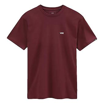 Vans Vänster Chest Logo T-Shirt - Port Royale / Vit
