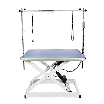 Groom Professional 110E Electric Dog Grooming Table Blue