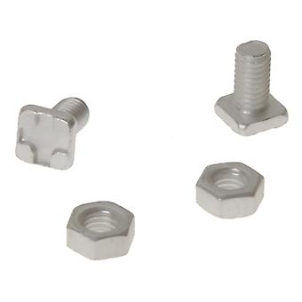 ALM Manufacturing GH004 Square Glaze Bolts & Nuts Pack of 20 ALMGH004