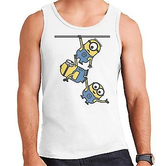 Desprezível Me Bob Stuart e Dave The Minions Hanging Men's Vest