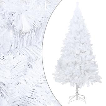 vidaXL Artificial Christmas tree with thick branches White 180 cm PVC