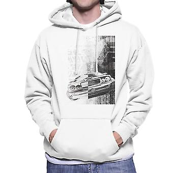 Fast and Furious Dodge Charger Close Up Men's Hooded Sweatshirt