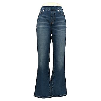 Motto Women's Jeans Blue Bootcut Regular 5-Pocket Cotton 630-718