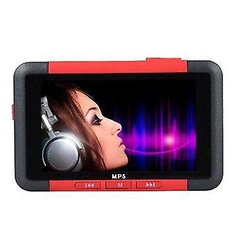 Bang dobrý 3 palcový Slim LCD displej hudobný prehrávač 8GB MP5 s FM rádio video film