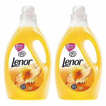 Lenor Fabric Conditioner Summer Breeze 2.905L Pack of 2
