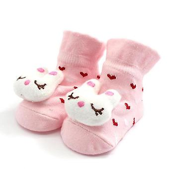 Cartoon Newborn Baby / Anti-alunecare Papuci Pantofi Bootsăs Sock