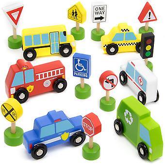 רכב העיר עסוק ושילוט