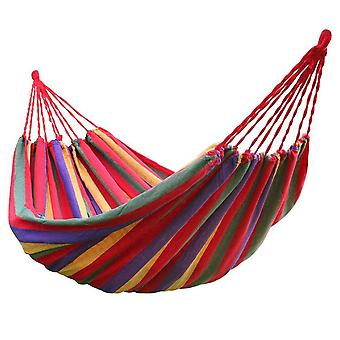 Rainbow Outdoor Leisure Double 2 Person Canvas Hammocks