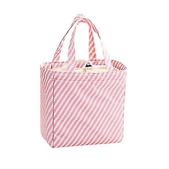 Waterproof Oxford Lunch Bag Picnic Camping Thermal Cooler Food / Drink Cool