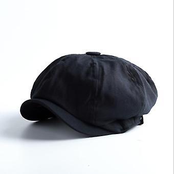 Fashion Vintage Newsboy Hat, Korean Version Casual Tide Personality Beret Cap