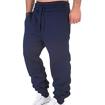 Workout Casual Elastic Drawstring Trousers