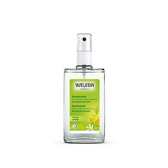 Weleda Citrus Deodorant 24hia Eficacia Spray 100 Ml Para Mujer