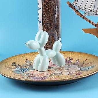 Süße Kuchen Dekoration Ballon Hund Harz Handwerk Skulptur modischen Kuchen