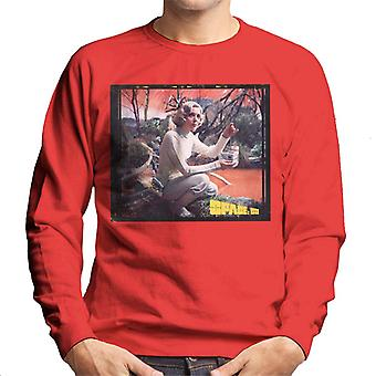 Space 1999 Helena Russell Matter Of Life And Death Men's Sweatshirt