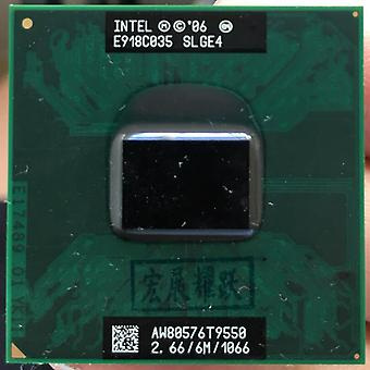 Intel Core Duo, Cpu Laptop Processor, Pga Working Properly