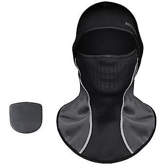 Zimní termální fleecová lyžařská maska celoplošná pokrývka obličeje